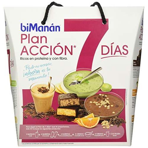 51nI6fqI6fL. SS500 Plan que combina productos biManán con alimentos de la dieta mediterránea 24 productos biManán + 1 Coctelera Gratis! Planifica menús inferiores a 1000 kcal al día