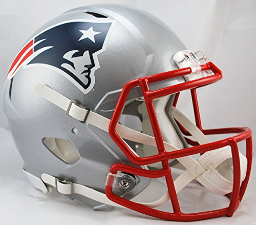 NFL New England Patriots Speed Authentic Football Helmet