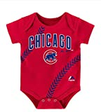 Chicago Cubs Infant Onesie Size 6-9 Months Bodysuit Creeper - Red