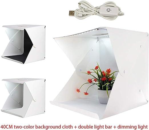 Tienda LED Studio Softbox-15.7x15.7 pulgadas/40x40 Centímetros ...