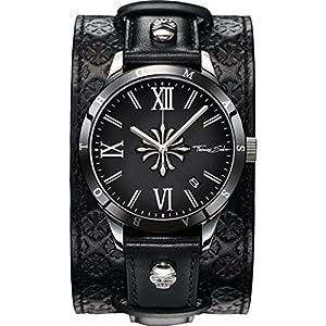 Thomas Sabo – WA0196-268-203-43 mm – Montre Homme – Quartz – Chronographe – Bracelet Acier inoxydable noir