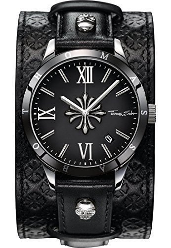 Thomas Sabo Men's Watch Rebel Icon Silver Black Analogue Quartz