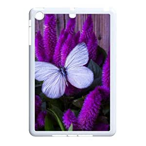 Butterfly Unique Design Cover Case with Hard Shell Protection for Ipad Mini Case lxa#452882
