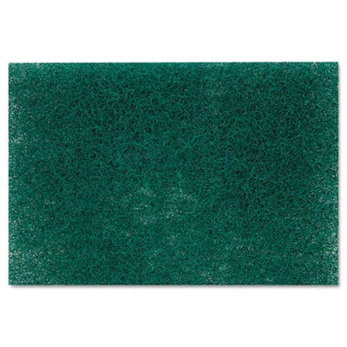 Scotch-Brite PROFESSIONAL 86CT Commercial Heavy Duty Scouring Pad 86, 6'' x 9'', Green, 12 per Pack (Case of 3 Packs)