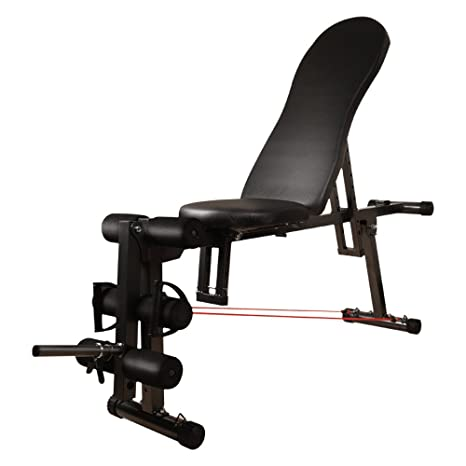 Innovador banco de pesas Tablero supino / Equipo de ejercicios abdominales / Abdomen interior Múltiples funciones
