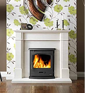 Wood Burning Stove Inset Insert Multifuel Built In Fireplace Log