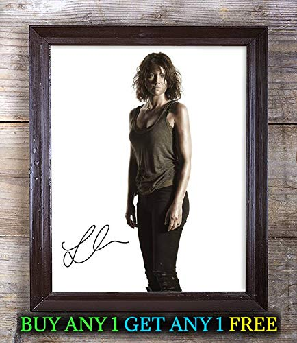Maggie Greene Fictional Character Autographed Signed 8x10 Photo Reprint #63 Special Unique Gifts Ideas Him Her Best Friends Birthday Christmas Xmas Valentines Anniversary Fathers Mothers Day - Greene Autographed Photo
