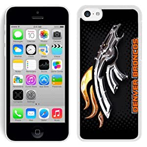 Beautiful and DIY Iphone 5c Case Design with Denver Broncos 2 White Case for Iphone 5c Generation