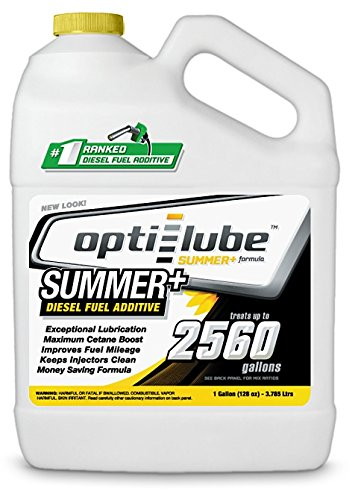 Opti-Lube Summer+ Formula Diesel Fuel Additive: 1 Gallon without Accessories Treats up to 2,560 (Dedicated Fuel System)