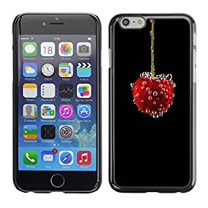 PC/Aluminum Funda Carcasa protectora para Apple Iphone 6 vishnya yagoda puzyrki / JUSTGO PHONE PROTECTOR