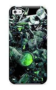 New Style Premium Abstract Back Cover Snap On Case For Iphone 5c 1109740K14628354