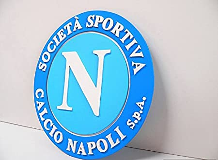SSC Napoli Customized 19x14 inch Silk Print Poster WallPaper Great Gift   Amazon.co.uk  Kitchen   Home 5f400db611291