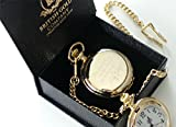 Jeff Buckley Signed Quote Pocket Watch 24k Gold Plated with Certificate Boxed in Luxury Gift Case