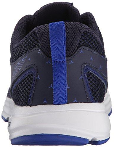 Nuovo Equilibrio Mens 577v4 Cush + Scarpa Da Allenamento Blu / Argento