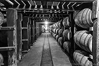 Buffalo Trace Bourbon Whiskey Barrel Distillery, Bourbon County, Kentucky. Photo Art Print for Home, Wall Art, Bathroom and Office Decor