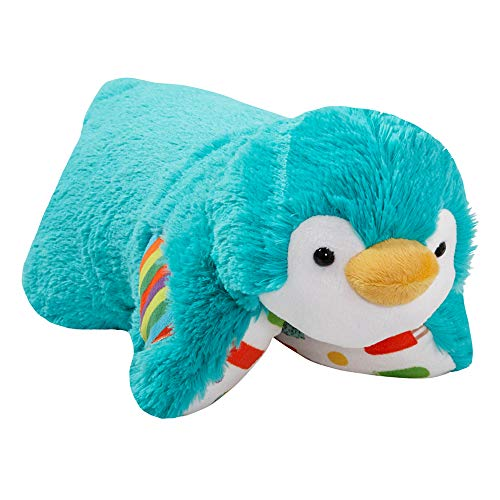 Pillow Pets Sweet Scented Ice Pop Penguin Stuffed Plush Toy for Sleep, Play, Travel, and Comfort - Great for Boys and Girls of All Ages ()