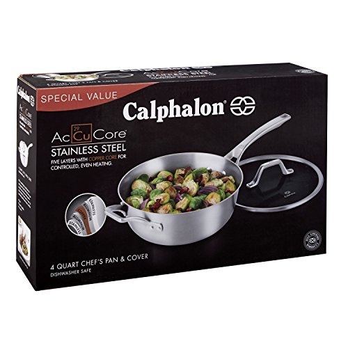 Calphalon Accucore 4 Qt Chef S Pan With Cover Www