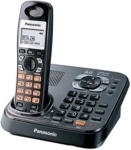 amazon com panasonic dect 6 0 expandable digital cordless rh amazon com Panasonic Kx Instruction Manual Tgf350 Panasonic 6.0 Cordless Phone Manual