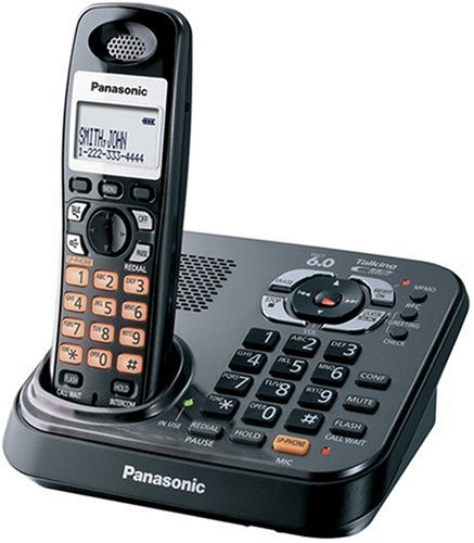 (Panasonic Dect 6.0 Expandable Digital Cordless Answering System - Single Handset System (KX-TG9341T))
