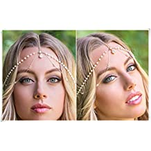 Bohemia jewelry, wedding accessories, bride headdress, hair ornaments, pure Handmade