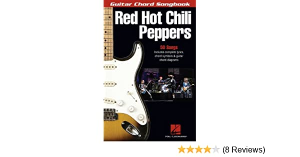 Amazon Red Hot Chili Peppers Songbook Guitar Chord Songbooks