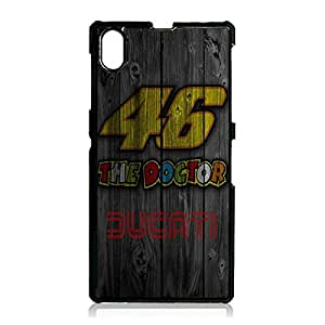 Hot Valentino Rossi Phone Case Cover For sony?xperia?Z1 Valentino Rossi Luxury Pattern