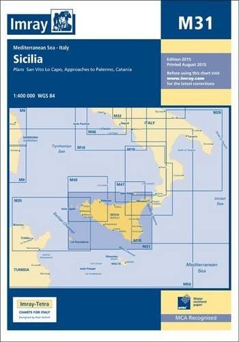Imray Chart M31: Sicily