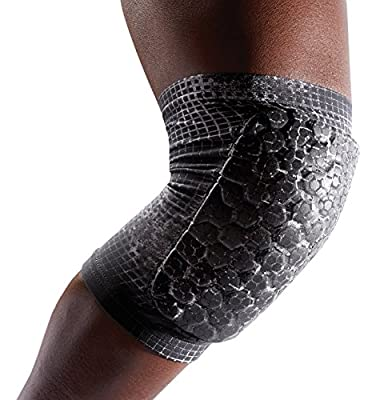 McDavid Pair Teflx Knee/Elbow/Shin Pads, Small, Black