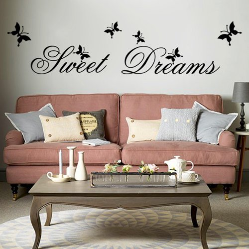 Sweet Dreams DIY Removable Art Vinyl Quote Wall Sticker Decal Mural Home  Room D¨¦ Part 96