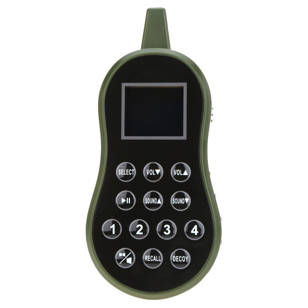 HKCYSEA Hunting Bait Caller 400 Songs Outdoor MP3 Player LCD Screen Loud Speaker With Wireless Remote Control Wildlife Decoy Game Predator by HKCYSEA (Image #5)