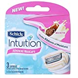 Schick Intuition Advanced Moisture Hydration with Shea Butter 3 Cartridges