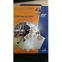 Dust Bags for Aero, 4/pk by Nilfisk Industrial Vacuums
