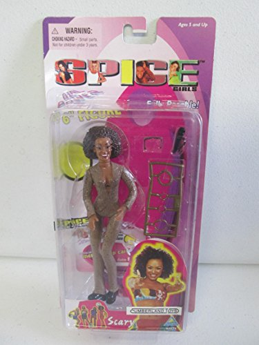 1998 Spice Girls 6 inch Figure Scary Spice, Brown - Scary Spice Outfits