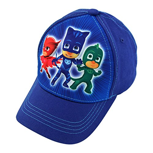 PJMASKS Little Boys 3D Pop Baseball Cap, Age 4-7 Cartoon Style Snap