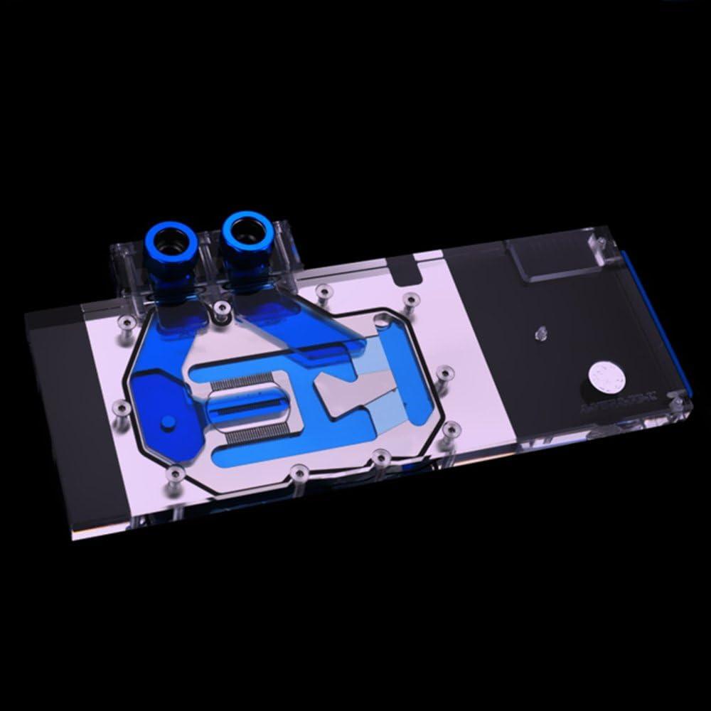 B BYKSKI RGB VGA GPU Water Cooling Block for AMD Radeon Vega Sapphire Dataland XFX Yesion Frontier Edition