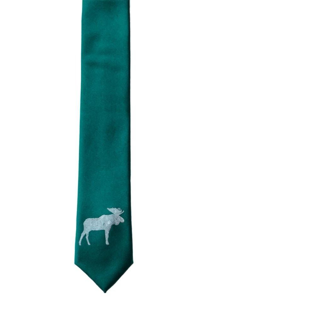Moose Skinny Tie - Gem