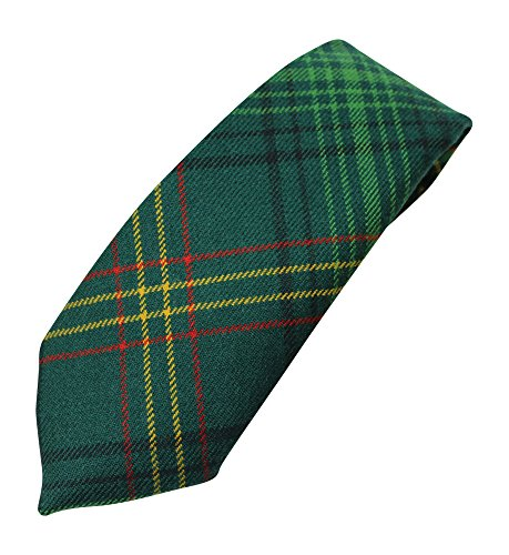 100% Wool Authentic Traditional Scottish Tartan Neck Tie - New South Wales (Welsh Tie Tartan)
