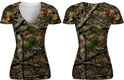 5fb33b6927a5 Amazon.com: Lethal Threat Women's Skull Camo T-Shirt (Women's ...