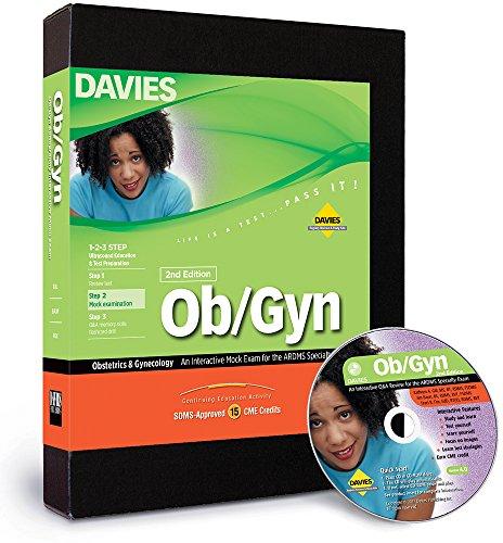 Ob/Gyn Sonography CD-ROM Mock Exam, 2nd Edition (Windows)