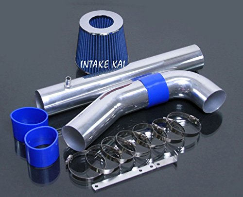 Blue 2011-2014 Dodge Challenger Charger / Chrysler 300 3.6 3.6l V6 Air Intake Kit Systems by Intake Kai