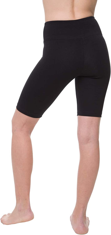 NIRLON Yoga Shorts for Women High Waist Tummy Control Short Leggings Best Workout Cotton Yoga Pants 9