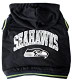 Pets First NFL Seattle Seahawks Hoodie, Small Review