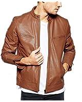 Gordania Bomber Series Men's Slim Fit Zipper Design Jacket