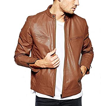 Gordania Bomber Series Men s Slim Fit Zipper Design Jacket  Amazon ... b96571fefb