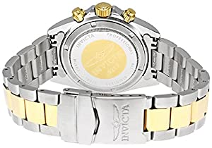 Invicta Men's 9212 Speedway Collection 18k Gold Plating and Stainless Steel Two-Tone Watch
