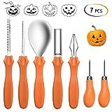 Heasenbei mojiaoqi-13 Halloween Pumpkin Carving Kit, 8.3 x 3.9 x 2.2 inches, organge