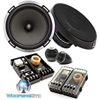 Focal PS 165 6.5 160 Watts RMS 2-Way Performance Series Component Speakers System