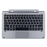 Original Keyboard for CHUWI Hi10 Pro / Hibook / Hibook Pro Multi Mode Rotary Shaft Detachable Keyboard with Pogo Pin Magnetic Docking Separable Design