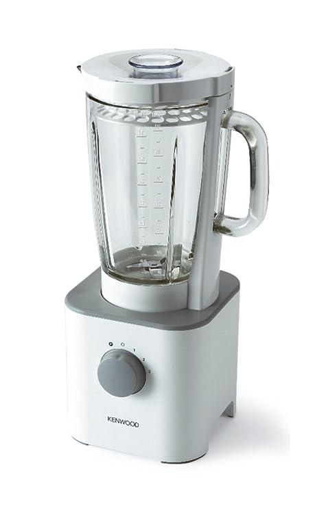 Kenwood Batidora De Vaso 600 W; Blanca; Vaso Cristal 1,6 L;