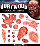 Loftus International Tinsley Transfers Burned Alive Temporary Tattoo